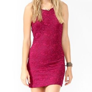 30% OFF BUNDLES Forever 21 Purple Lace Bodycon